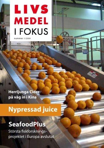 Nypressad juice - Livsmedel i fokus