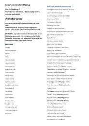 Klik her for at hente en repertoireliste med uddrag af ... - Kim Maarup