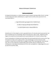 - at øge fællesskabet og engagementet i Kollektivhuset - at skabe et ...