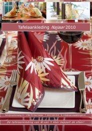 Tafelaankleding Najaar 2010