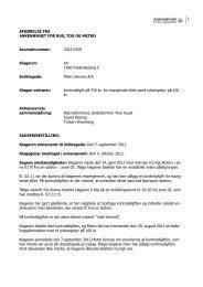 Afgørelse 2012-0359, 23. april 2013 - Ankenævnet for Bus, Tog og ...