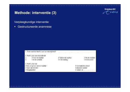 Het effect van protocollaire behandeling van lichamelijke ...