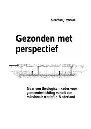 Gezonden met perspectief - CGK Amsterdam