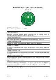 Protokoll höstmötet 2012 - Kogvet-sektionen