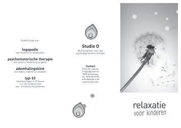 relaxatie - Studio-O