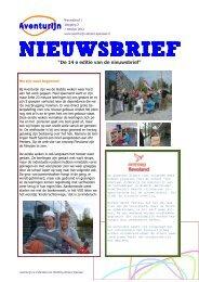 Aventurijn nieuwsbrief 14 - Aventurijn - Stichting Almere Speciaal