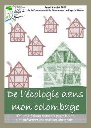 télécharger le cahier des charges - Communauté de Communes du ...
