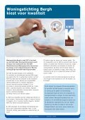 Bewonersblad 3 2009 - Woningstichting Bergh - Page 4