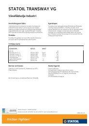 STATOIL TRANSWAY VG - Statoil Fuel & Retail