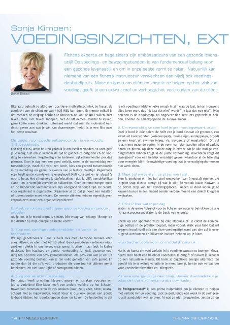 voedingsinzichten - extra toef bij coaching.pdf - Sonja Kimpen