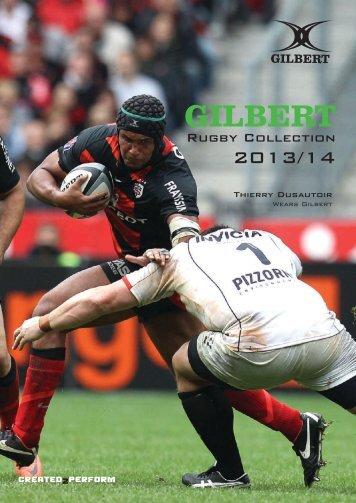 Gilbert Rugby Katalog 2013/14