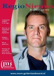 Regio Nieuws Juni 2012 - Klimmen tegen MS