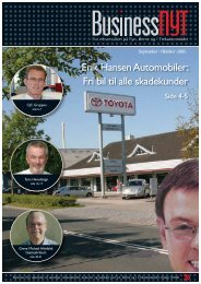 Erik Hansen Automobiler: Fri bil til alle skadekunder - BusinessNyt