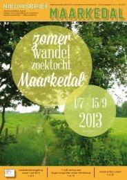 Nieuwsbrief juni 2013 - download - Gemeente Maarkedal