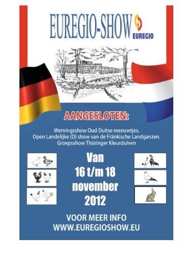Vraagprogramma 2012 - Euregio Show
