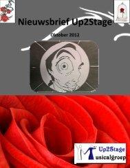 Nieuwsbrief oktober 2012 - Up2Stage