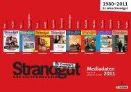 Mediadaten 2011 - Strandgut