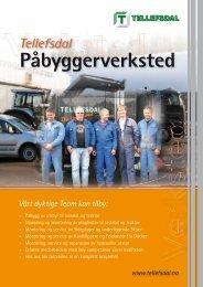 Produktark påbyggerverksted (PDF) - Tellefsdal AS