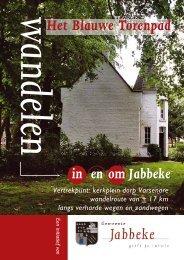 Wandelpad het Blauwetorenpad - gemeente Jabbeke