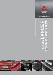 Lancer Accessoires - Mitsubishi