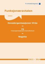 Funksjonæravtalen - Negotia