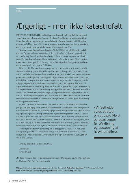 Download som PDF 1,4 mb - Esbjerg Havn