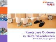 Zorg voor kwetsbare ouderen in Gelre ziekenhuizen - Caransscoop