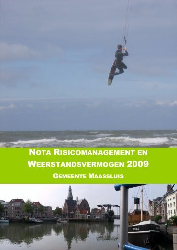 NOTA RISICOMANAGEMENT EN WEERSTANDSVERMOGEN 2009