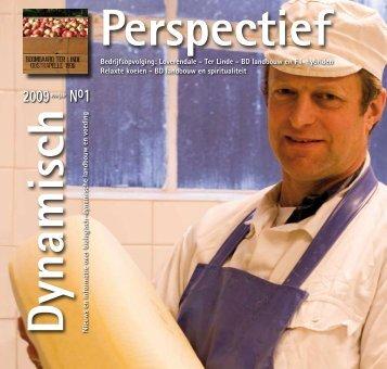 Dynamisch Perspectief 2009 - BD-Vereniging
