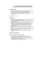 Overeenkomst betreffende het aanbieden en (laten) verwerken van ...