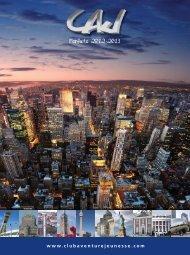 Téléchargez votre brochure annuelle 2012-2013 - Club Aventure ...