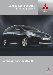 Leverbaar vanaf € 29.999,- - Mitsubishi