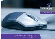 Profilbrochure - Holtum Data