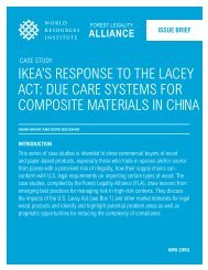 IKea's response to the LaCey aCt: due Care systems for ComposIte ...