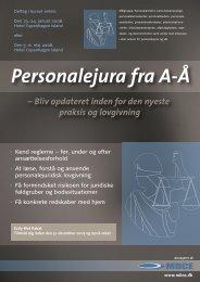 Å Personalejura fra A-Å - MBCE