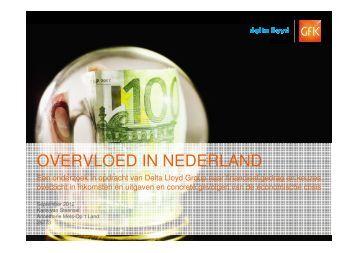 OVERVLOED IN NEDERLAND - Delta Lloyd Groep