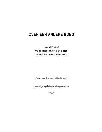 tekst downloaden als pdf-document - Raad van Kerken in Nederland