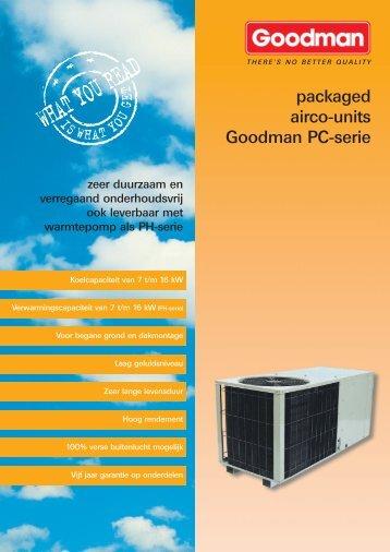 PC/PH Rooftop units 7-16 kW (PDF folder 250 kb) - Primairco