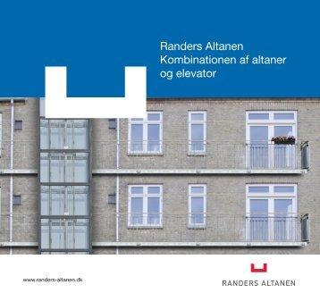 elevator brochure - Randers Altanen
