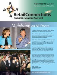 Mobilizing on All Fronts - RetailConnections