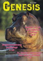 Nr 1 1999 - GENESIS