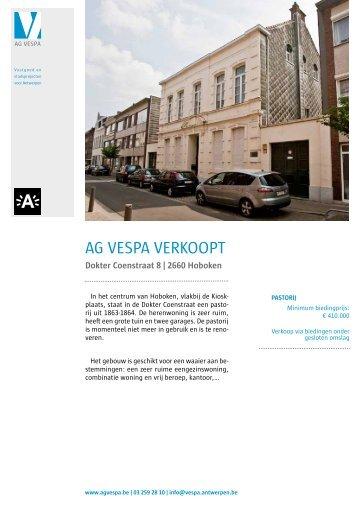 Dokter Coenstraat 8 - AG Vespa