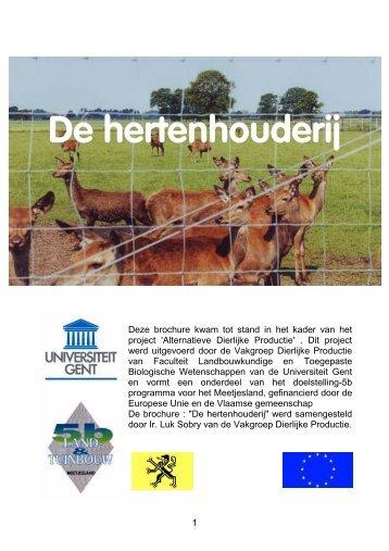 Hertenhouderij - Vereniging Het Edelhert