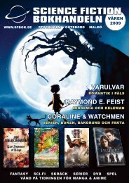 varulvar raymond e. feist coraline & watchmen - Science Fiction ...