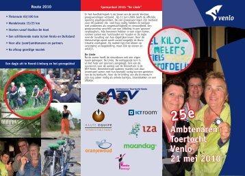 25e Ambtenaren Toertocht Venlo 21 mei 2010 - ATV Venlo