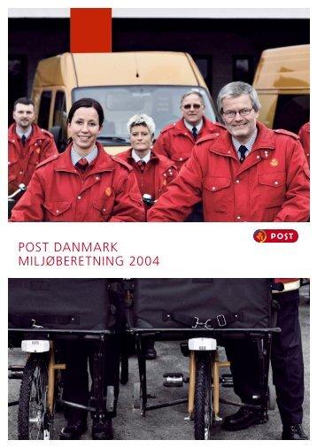 25-08-2010 Post Danmark Baeredygtighedsrapporten ... - PostNord