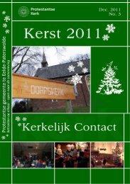nr. 3, 2011 december - Protestantse gemeente Eelde - Paterswolde