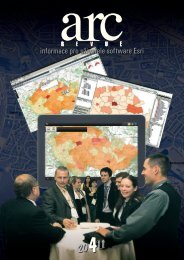 informace pro uživatele software Esri - Arcdata Praha, s. r. o.