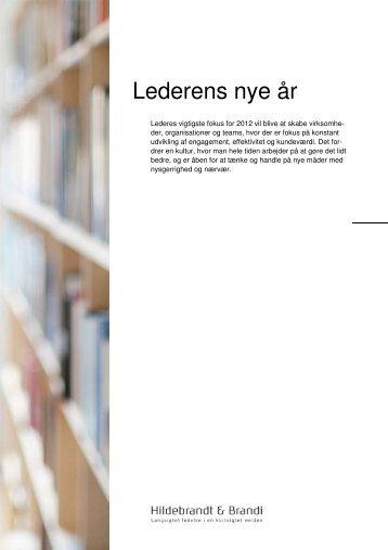 Lederens nye år - Hildebrandt & Brandi