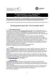 Diaconale Nieuwsbrief – nr. 23 - Protestantse Gemeente Amersfoort